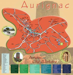 Plan ville AUrignac